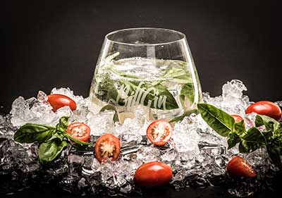 BillGin Basil Smash Cocktail Rezept